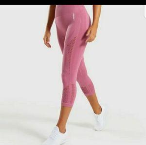 Gymshark energy + Seamless cropped leggings